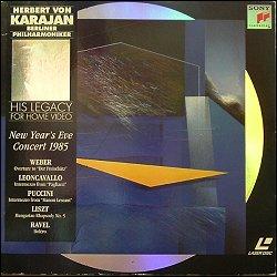 SONY SLV 46402 (PAL) Leoncavallo Pagliacci:Intermezzo :1985 B.P.O.. Liszt Hungarian Rhapsody No 5 :1985 B.P.O.. Puccini Manon Lescaut:Intermezzo :1985 ...
