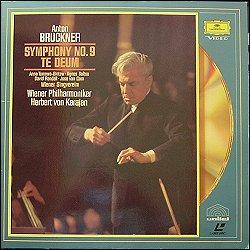 DG 072 137-1 (PAL) Bruckner Symphony No 9 :1978 V.P.O.. Bruckner Te Deum :1978 V.P.O.